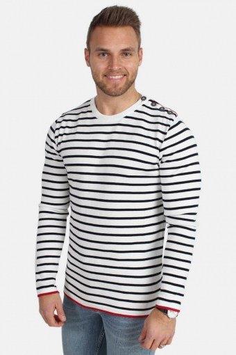 Oscar Stripe Sticka Off White/Navy