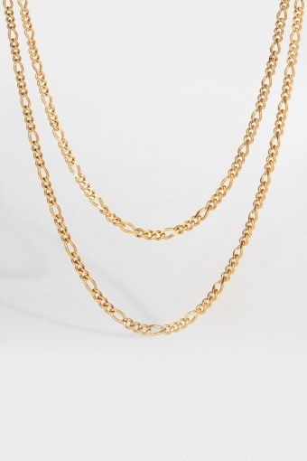Double Antique Halskæde Guld ton