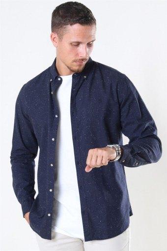 Blalogo Autumn Skjorta L/S Navy Blazer