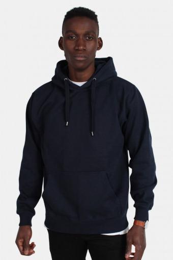 Hooded Tröja Blue Navy