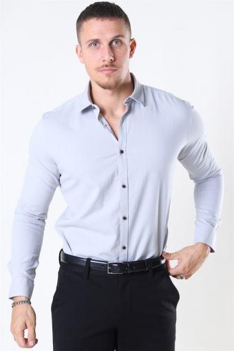 Earman Skjorta Light Grey