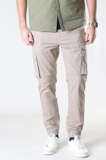 Cam Stage Cargo Cuff Pants Black