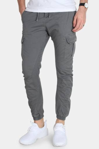 TB1268 Cargo Jogging Byxor Dark Grey