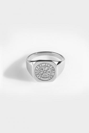 Vegvisir Signature Ringa Silver