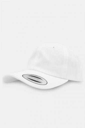 Flexfit Low Profile Cotton Twill Baseball Keps White