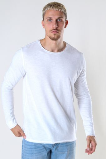 Konrad LS Straight Tee White