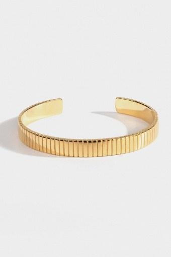 "Siempre Cut Armband ""Gold"""