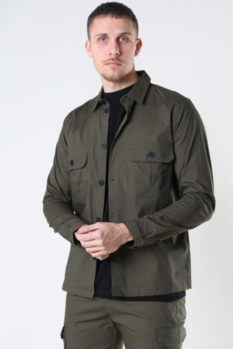 Ripstop Stretch Overshirt Army