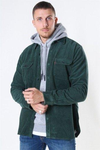 Jackson Worker CordKlockaoy Skjorte Python Green