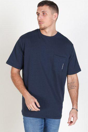 Boxy Stens T-shirt Navy