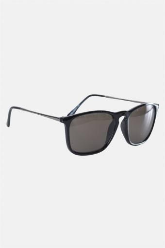 Fashion 1393 Black Gun Solgasögon Grey Lens