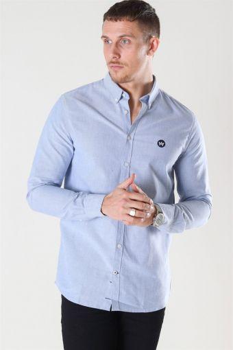 Johan Oxford Skjorta Light Blue