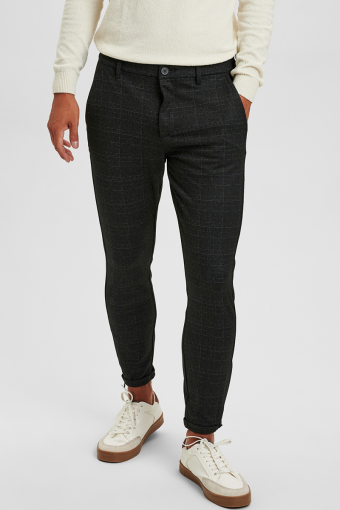 Pisa Black Shadow Check Pants