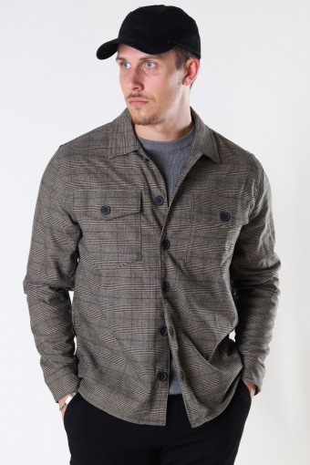 Clipper Ivy Check LS Shirt Beige Check