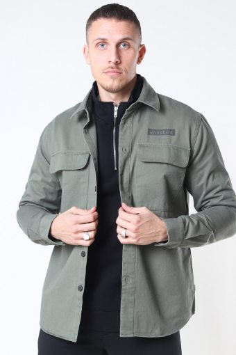 Hoxen Work Overshirt Green