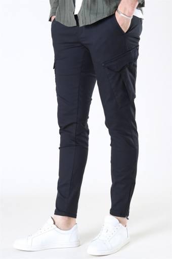 Pisa Dale Cargo Pants Black