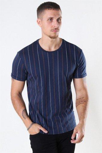 Clean Cut Louis Organic T-shirt Navy