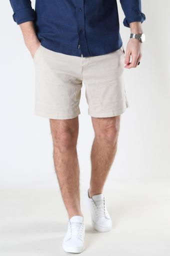 SLHSTORM FLEX SHORTS W NOOS Turtledove Mix - Plaza Taupe