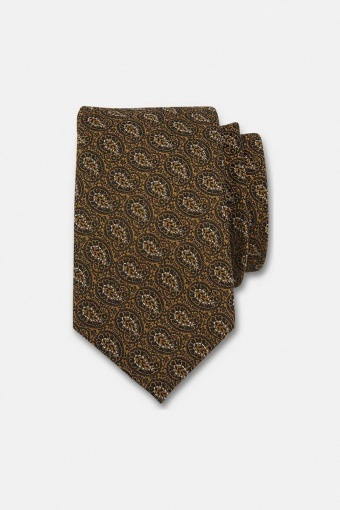 Mönstrad slips Guld