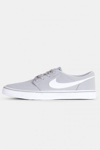 SB Portmore II Solar Sneakers Wolf Grey/White-Black