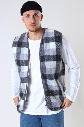 Zayn Teddy vest Grey