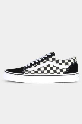Old Skool Primary Check Sneakers Black/White