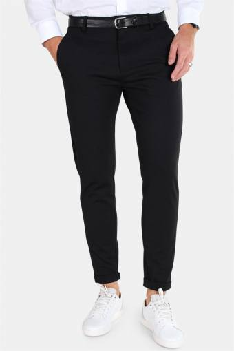Prato Jersey Pants Black