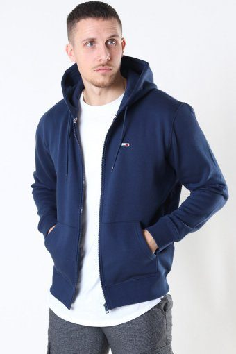 Tommy Jeans Fleece Zip Hoodie Twilight Navy
