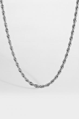 Rope Halskæde Silver
