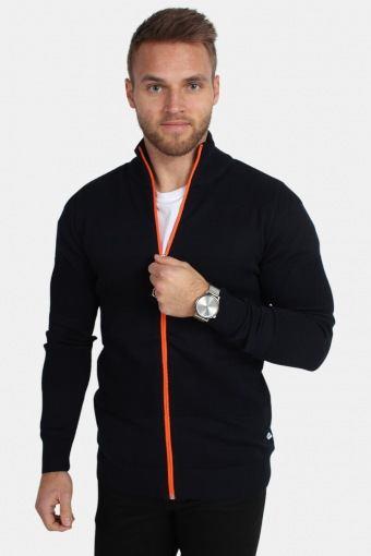 Jacob Zip Sticka Navy/Orange