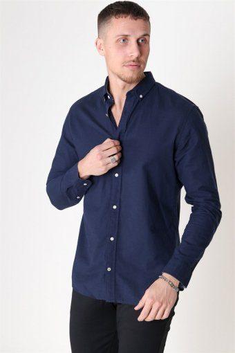 Summer Skjorta L/S Navy Blazer