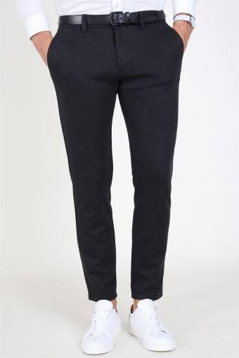 Mark HerRingabone Pants Grey Pinstripe