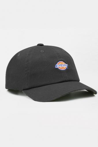 9 PANEL LOGO CAP  BLACK