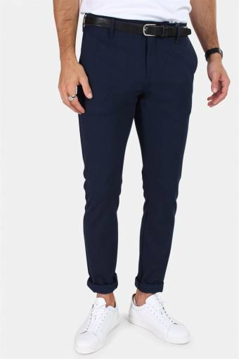 Steffen Twill Pants Navy