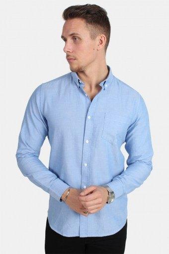 Alvaro LS Skjorta Cashmere Blue