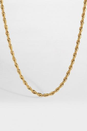 Rope Halsband Guld