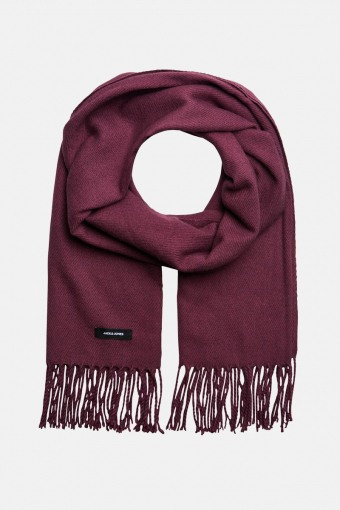 JACSOLID WOVEN SCARF NOOS Port Royale