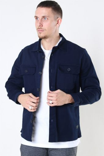 Topper LS Overshirt Navy
