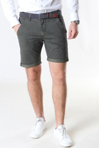 Louis Army Shorts inkl. Bälte