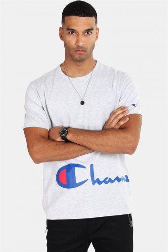 Crewneck T-shirt Light Grey