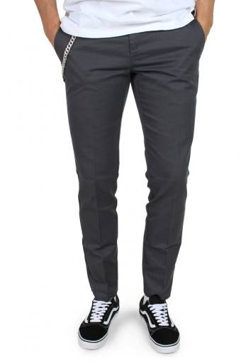 Work Pants Slim Fit Charcoal Grey