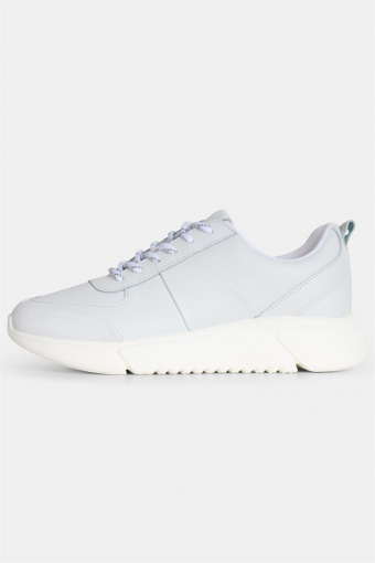 Salonga Læder Sneakers White