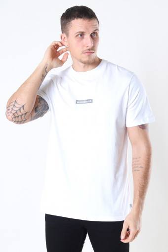 Trope Split Tee White