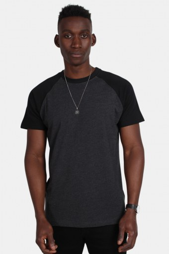 Tb639 T-shirt Charcoal/Black