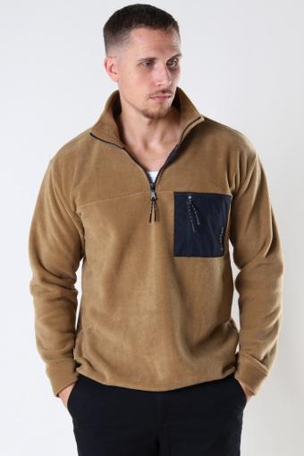 Frinck Half-Zip Fleece Camel