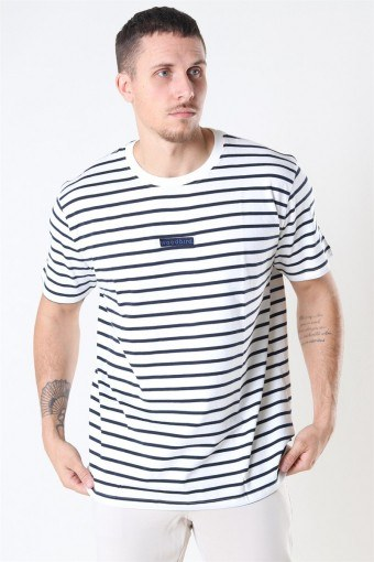 Menak Stripe T-shirt Kit-Navy