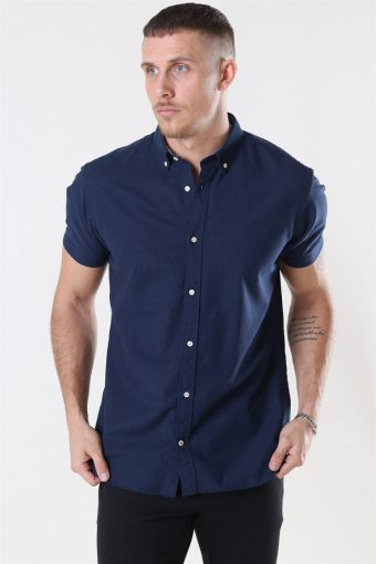 Summer Skjorta S/S Navy Blazer