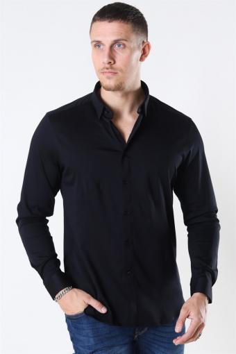 Mos Mosh Marco Jersey Skjorta Black