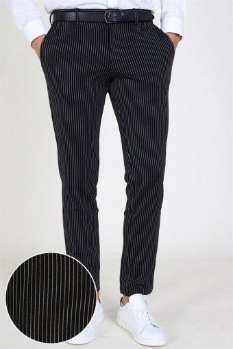 Marco Phil Jersey Pants Black Pin