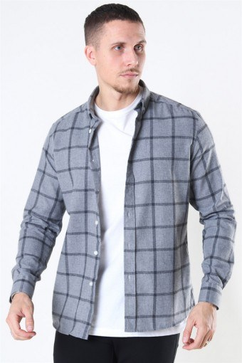 Clean Cut Sälen Flannel 1 Skjorta Grey